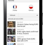 UEFA EURO 2012, pe telefonul mobil. O aplicatie gratuita de la Orange