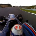Imagini incredibile filmate in 360 dintr-o masina de Formula 1 (VIDEO)