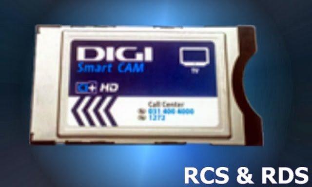 CAM CI+ RCS RDS Digi Tv