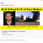 A aparut virusul Paul Walker. Cum te poti infecta pe Facebook
