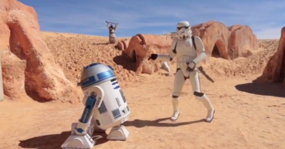 Happy – we are from Tatooine