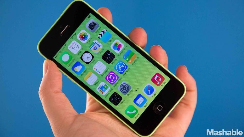 apple-iphone-5C-mashable