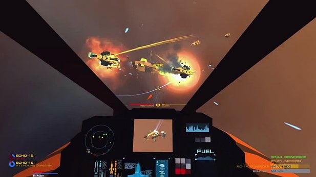 Enemy-Starfighter