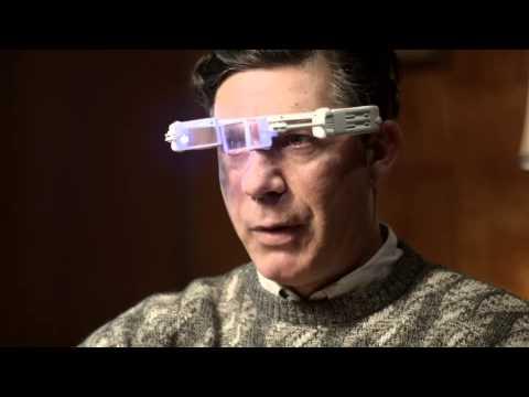 Parodia la Google Glass