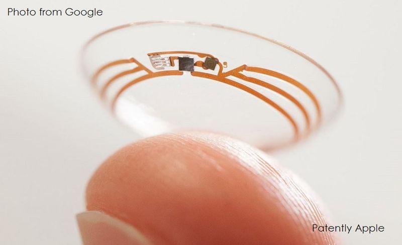 lentilele de contact inteligente - gadgetreport