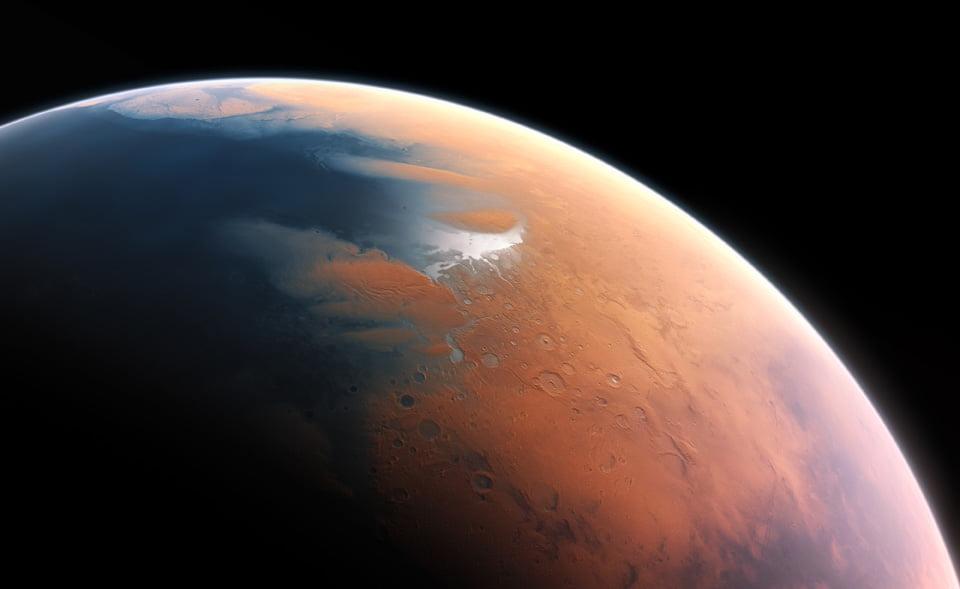 apă pe Marte