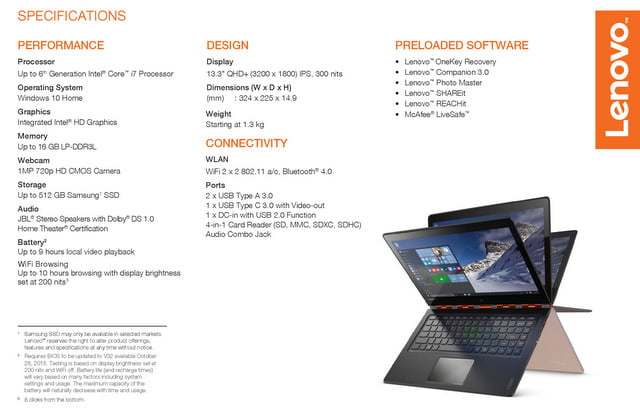 Lenovo-YOGA-900-specificatii