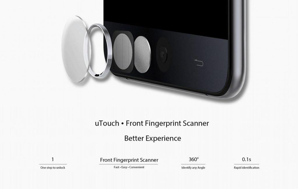 ulefone betouch 3 senzor