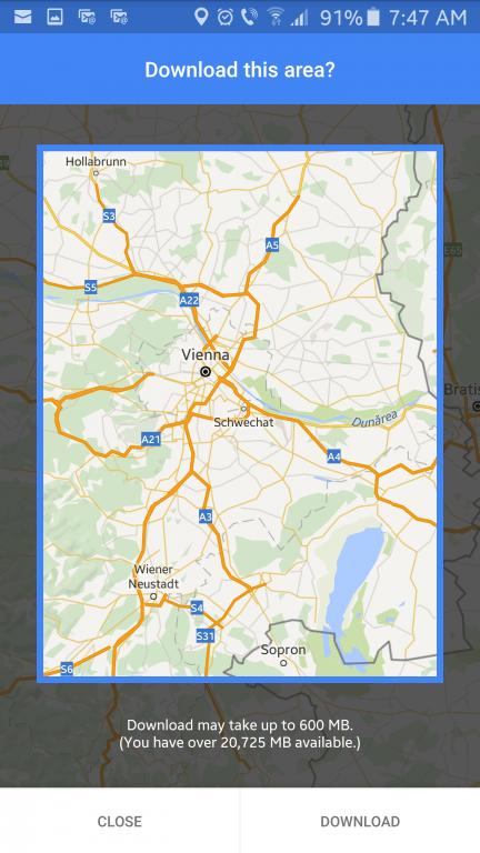 Cum să navighezi cu Google Maps fără internet google-maps-in-modul-offline