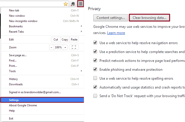 Cum faci ca internetul să se încarce mai repede chrome-cache-settings-625x412
